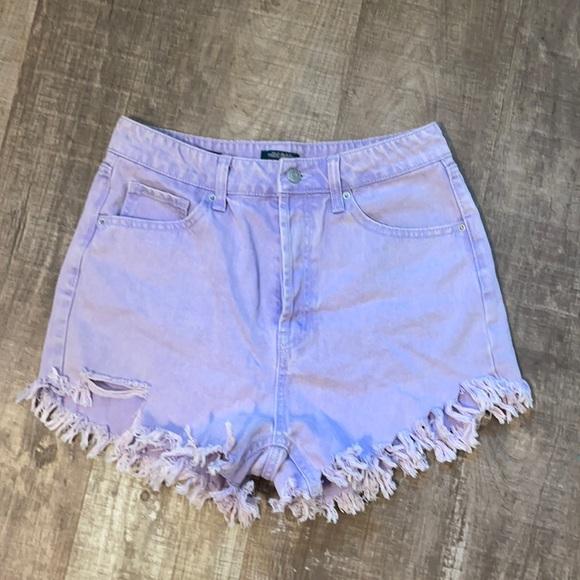 Wild fable purple shorts